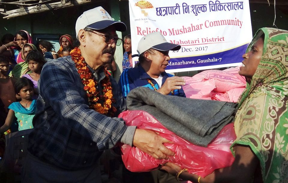 Relief to Mushahar at Mahottari 1